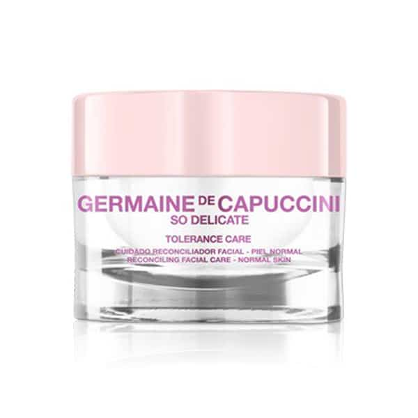 "CREMA HIDRATANTE PIELES NORMALES/SENSIBLES ""SO DELICATE TOLERANCE CARE"" GERMAINE DE CAPU"