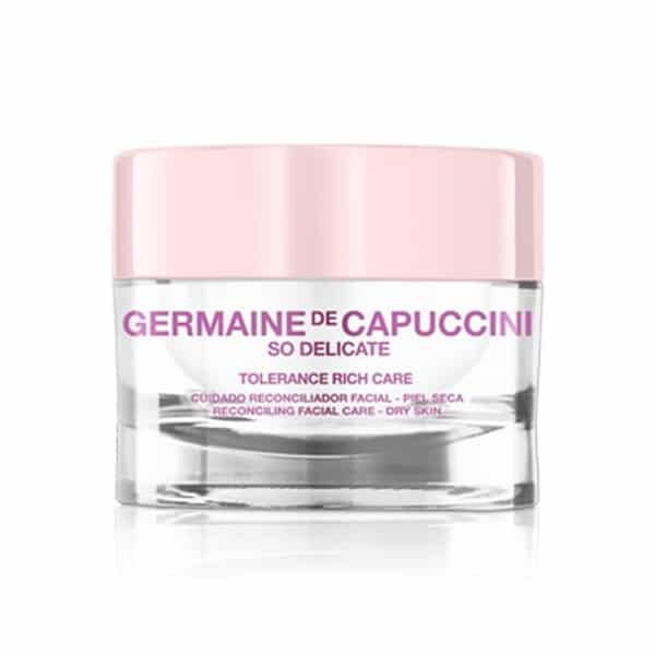 "CREMA HIDRATANTE PIELES SECAS/SENSIBLES ""SO DELICATE TOLERANCE RICH CARE"" GERMAINE DE CA"