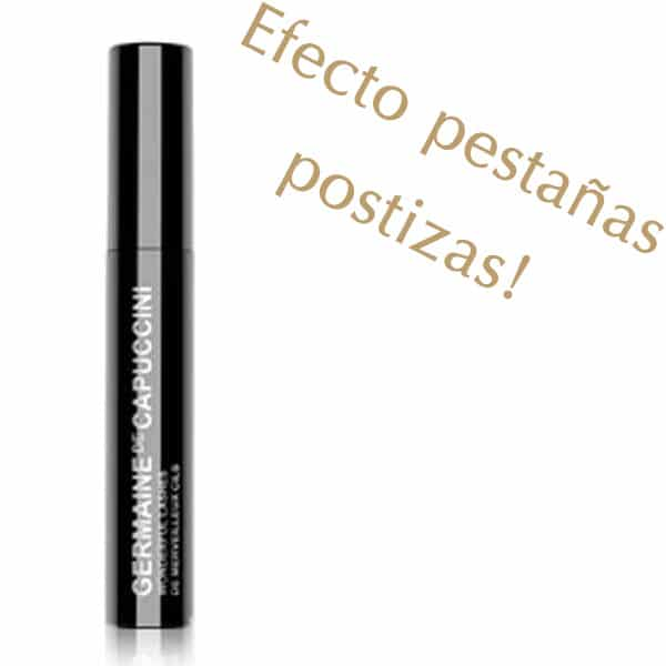 "MASCARA EFECTO PESTAÑAS POSTIZAS ""WONDERFUL LASHES"" GERMAINE DE CAPUCCINI"