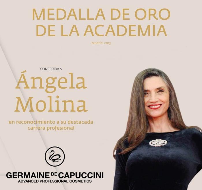noticia medallaOro GERMAINE DE CAPUCCINI