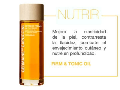 3 NUTRIR FIRM AND TONIC OIL GERMAINE DE CAPUCCINI